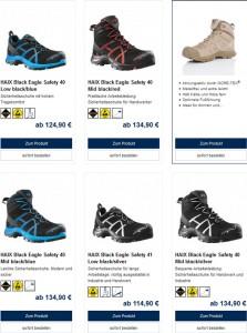 haix.de Deutschland Bsp Produkte