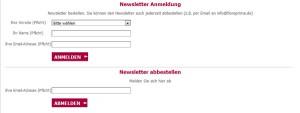123blumenversand Gutschein Newsletter