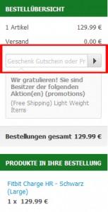 eglobalcentral.de Deutschland Gutschein