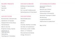 ja hochzeitsshop.de Deutschland Bsp Produkte