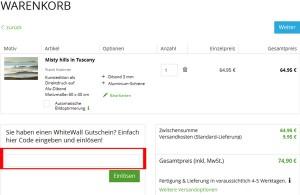 de.whitewall.com Deutschland Gutschein