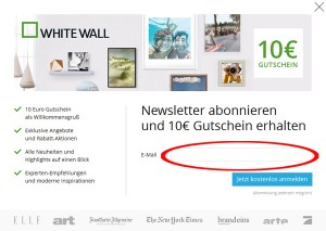de.whitewall.com Deutschland Newsletter