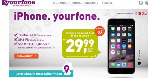 Yourfone tarife