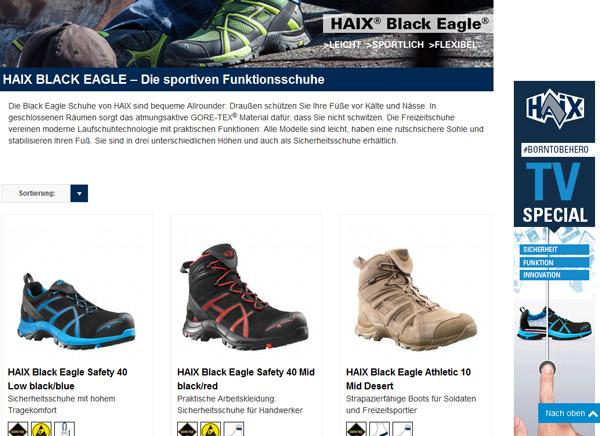 Haix 15 EURO Gutschein