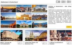 reisehummel.de Deutschland Bsp Produkte