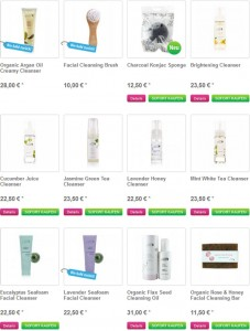 100percentpure.de Deutschland Produkte