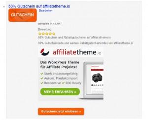 Affiliatetheme.io Gutscheincode 50%